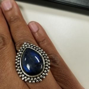Jewelry - Sterling Silver laboradite ring